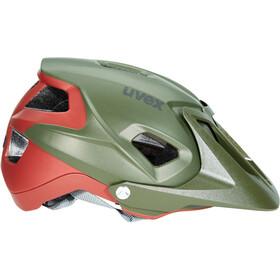 UVEX Quatro Integrale Helmet green